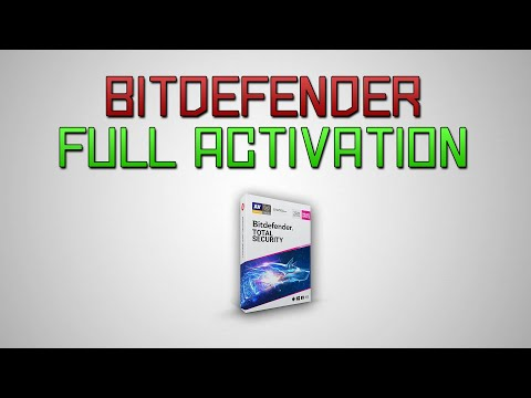 Bitdefender Total Security 2018/2019/2020 Unlimited Trial Keys! (No Cracks/Patches)