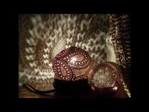 DIY Beautiful Coconut Shell Lamp Shade