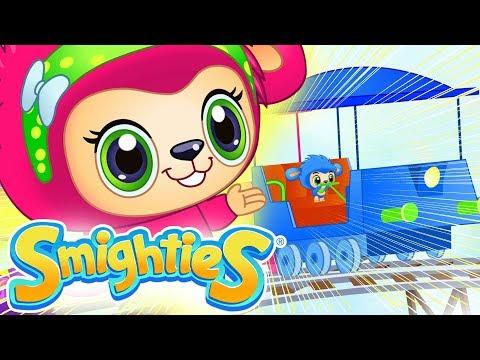 Smighties - Train Racing Adventure | Cartoons For Kids | Children's Animation Videos