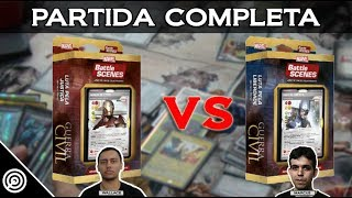 homem de ferro vs capito amrica partida completa bsgc battle scenes 80