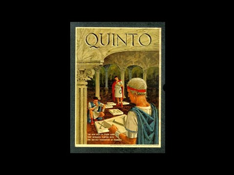 Ep 96: Quinto Board Game Review (3m Bookshelf 1964)