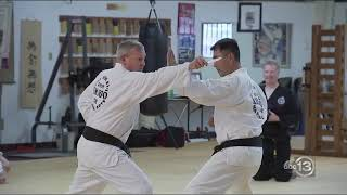 Chayon-Ryu and Grandmaster Kim Soo on ABC13