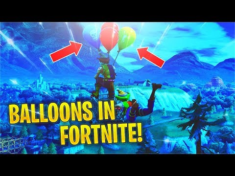Reacting To *NEW* Balloons TRAILER + Patch Notes! (Fortnite V6.21)