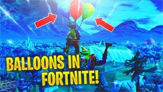 Réagir à 'NEW' Ballons TRAILER - Patch Notes! (Fortnite v6.21)