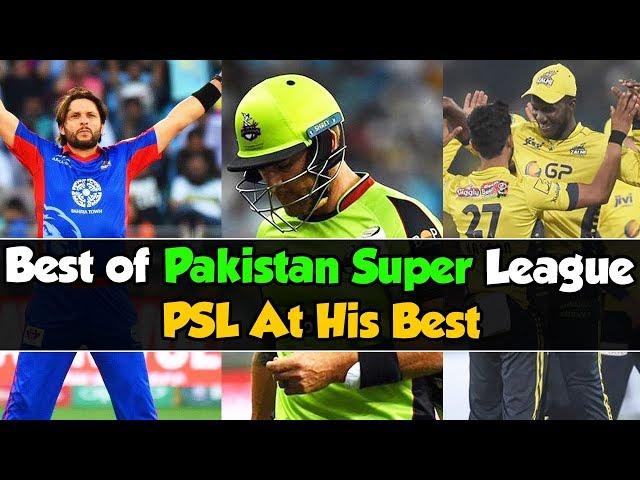 Best of Pakistan Super League | PSL At His Best | HBL PSL