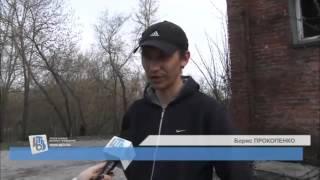 Репортаж о спасении собаки в Курске