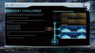Black Ops 3 Christmas 5 Free Supply Drop Opening (Community Challenge Rare Supply Drops)