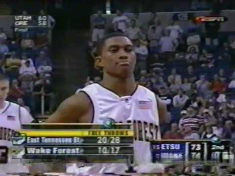 ETSU vs Wake Forest - 2003 NCAA Tournament - Pt 5