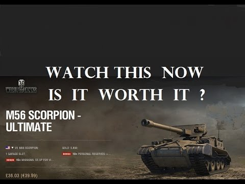 World of Tanks M56 Scorpion Is It Worth It? Don't buy it bef