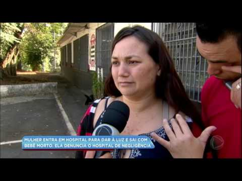Mulher denuncia negligência em hospital após perder bebê durante o parto