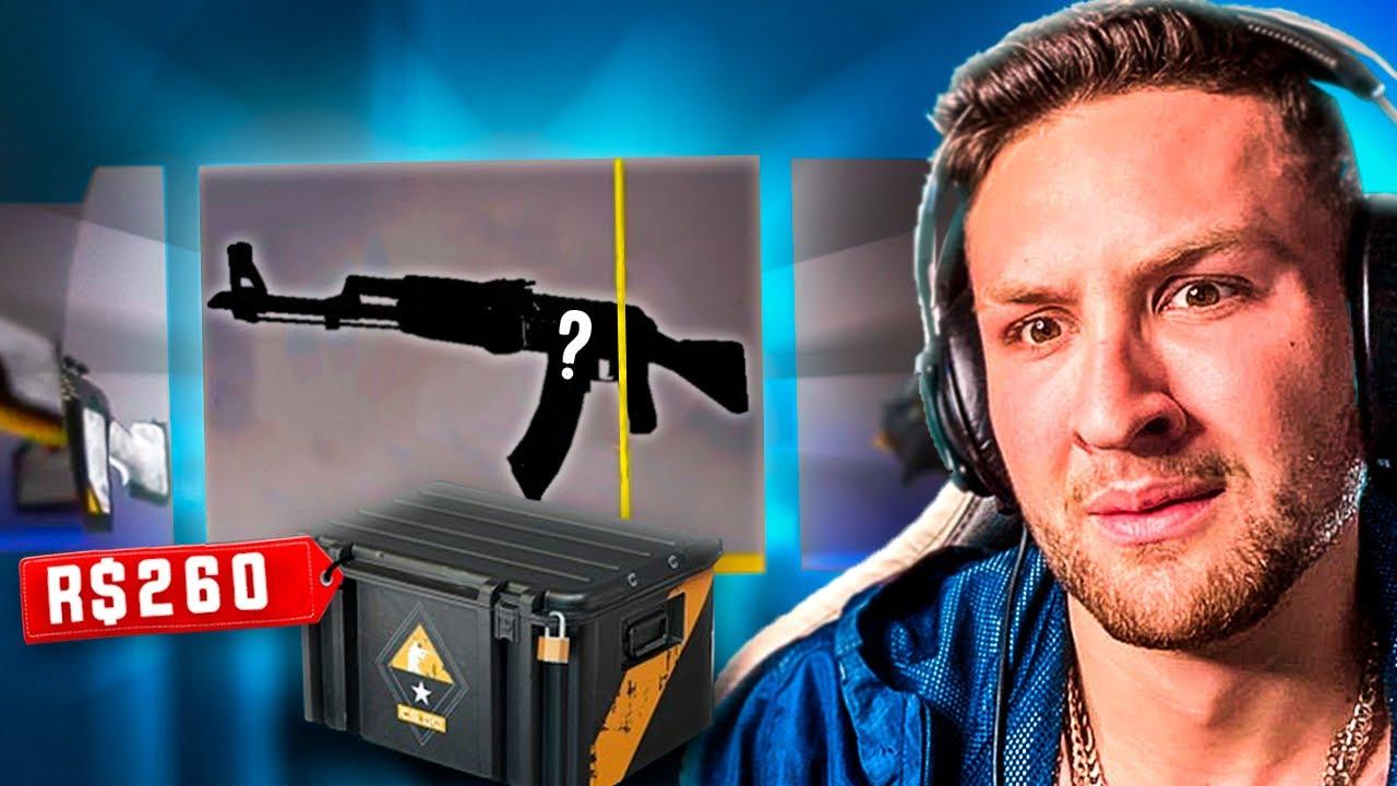 abri a caixa MAIS CARA do CS e ganhei uma AK RARA!