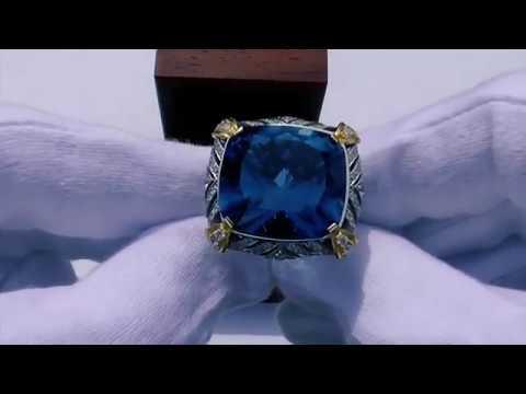 """Кольцо """"Лондон Топаз """", #ювелирныеизделия премиум класса..."""