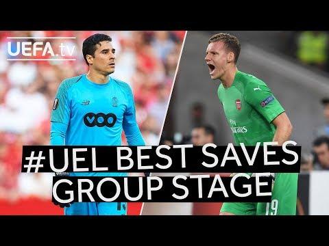 OCHOA, LENO: #UEL Group Stage BEST SAVES!!