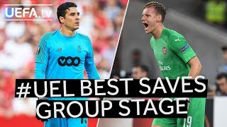 OCHOA, LENO: #UEL Group Stage BEST SAVES!!