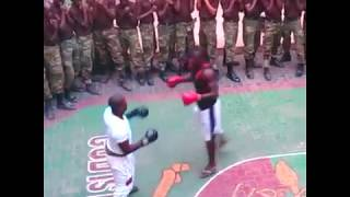 nigerian army selection training in camp