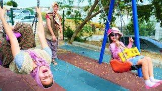 Fındık ailesi oyun parkı 'na gidiyor. Çocuk oyunları
