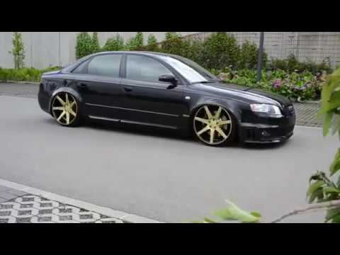 Audi A4 B7 Rs4 Style Vossen Wheels Youtube