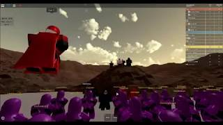 Imperial Guard tryout - ROBLOX Star Wars