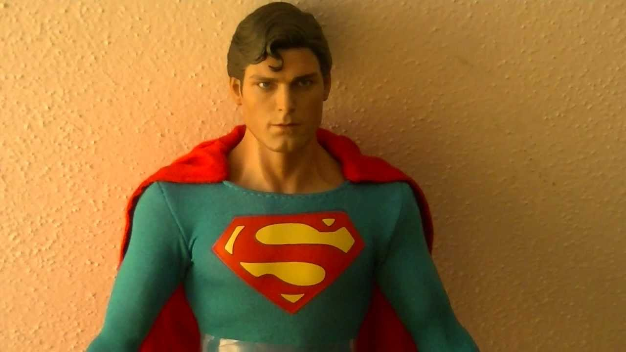 Toys For Chris : Unboxing review of my new hot toys christopher reeve
