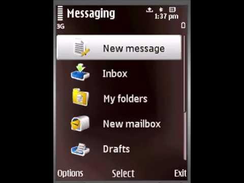 Sending SMS on Nokia N79