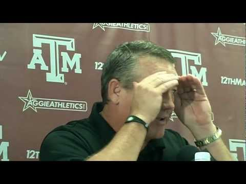 Aggies DC Mark Snyder before La Tech game