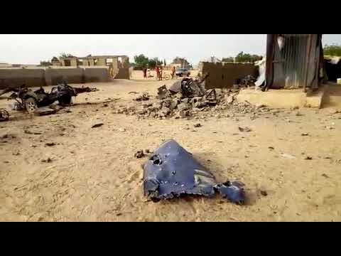 Air Force destroys Boko Haram suicide vehicle in Borno