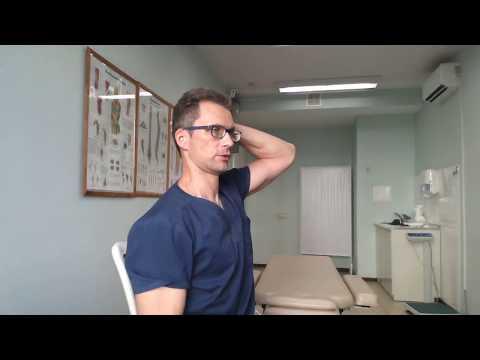 Отличное упражнение для лечения грыжи и протрузии шейного отдела позвоночника самостоятельно