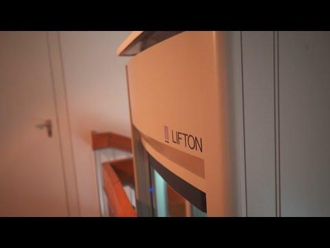 LIFTON - Einbau des Homelifts LiftonDuo