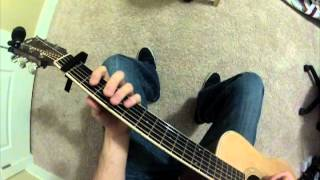 "How to play ""Criminal"" (Fiona Apple) on Acoustic Guitar"