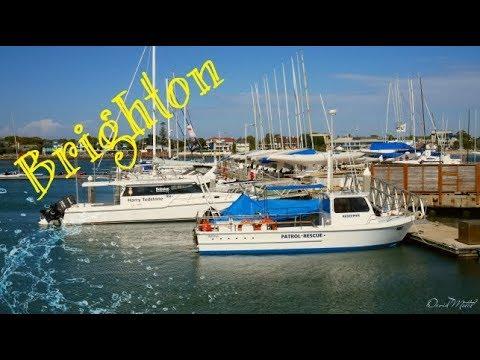Middle Brighton Marina Melbourne Australia