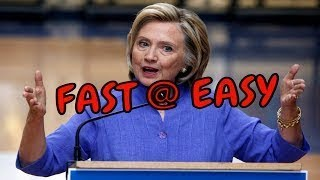 How to Learn English fast and easy Listen Hillary Speech at American Legion convention wit
