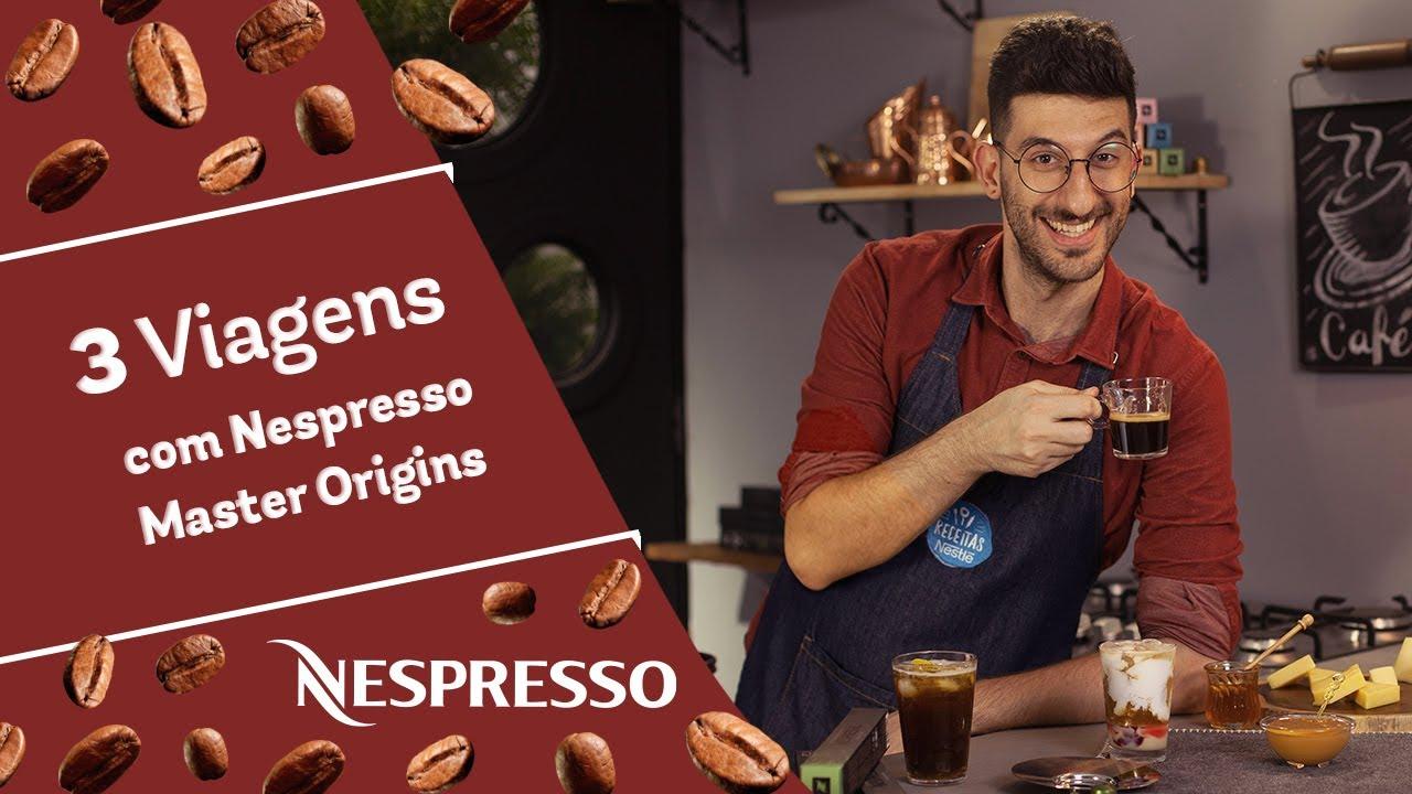 3 viagens com Nespresso Master Origins - Receitas Nestlé