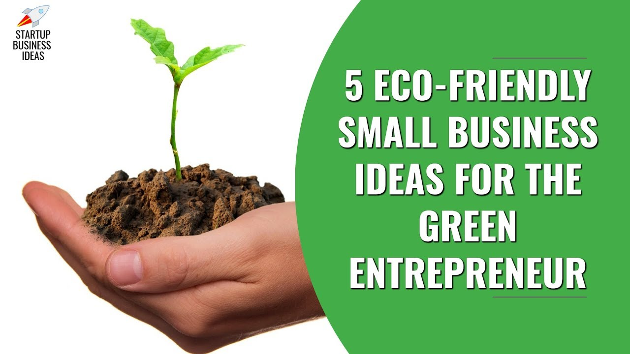 5 Eco Friendly Small Business Ideas For The Green Entrepreneur