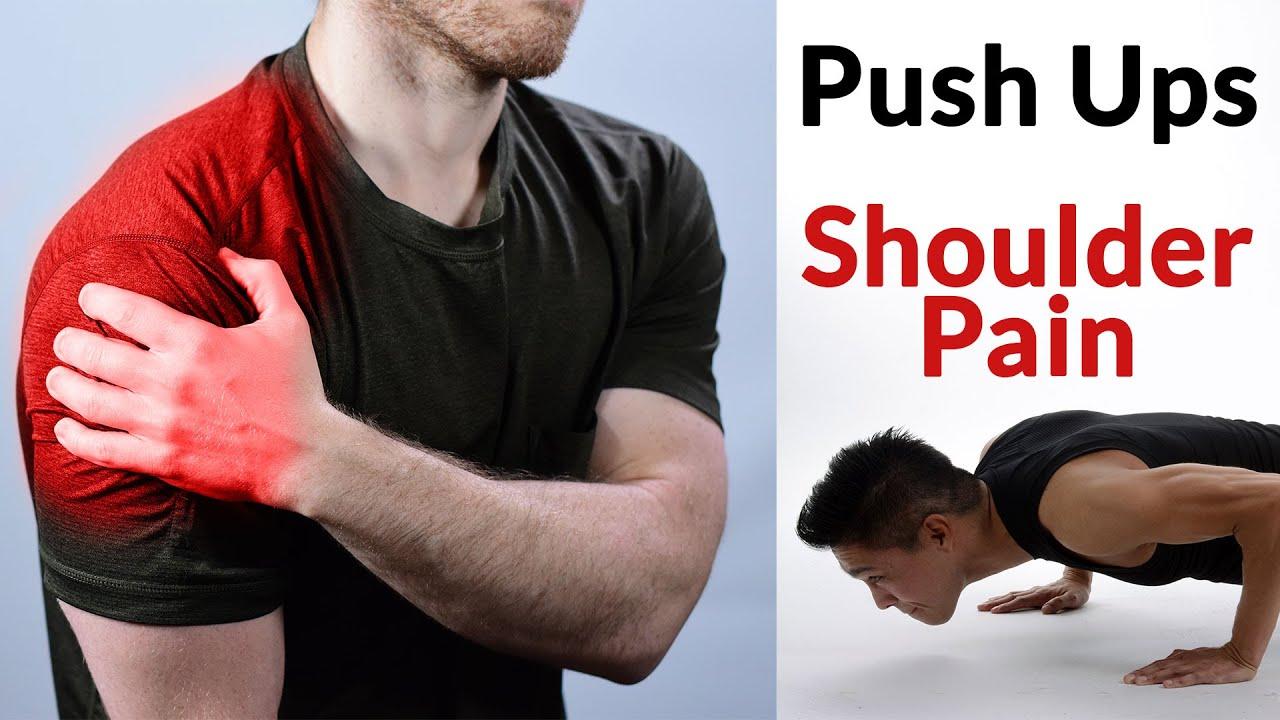 Shoulder Pain During Push Ups - YouTube