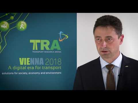 Transport Research Arena TRA 2018: Interview with Christian Chimani from AIT