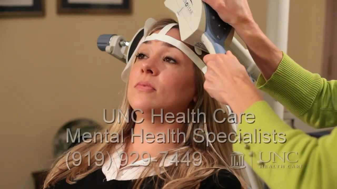 Depression Therapy: TMS transcranial magnetic stimulation