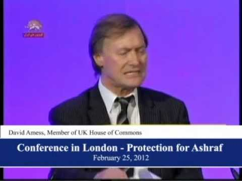Conference in Queen Elizabeth centre in London- Protection for Ashraf (Excerpts)