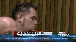 Man gets life sentence for murdering his grandparents