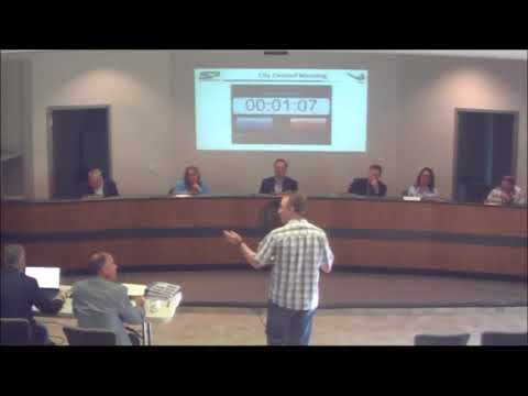 August 28, 2017 City Council Meeting