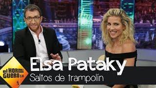 Elsa Pataky cuenta las dificultades para grabar un salto desde 10 metros - El Hormiguero 3.0