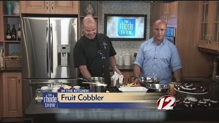 In The Kitchen: Fresh Fruit Cobbler
