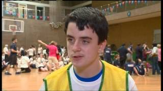 ITV Tyne Tees coverage of the Northumberland School Games 2014