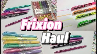 Frixion Haul & Review | Erasable pens, markers, highlighters | Crafty Phoenix