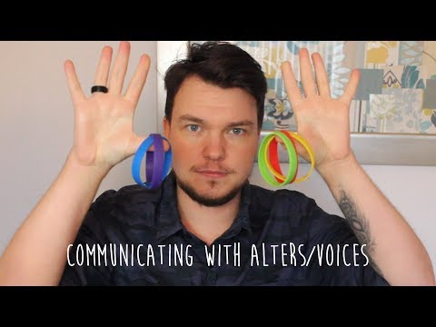 Wristband Method- Communicating with Alters/Voices