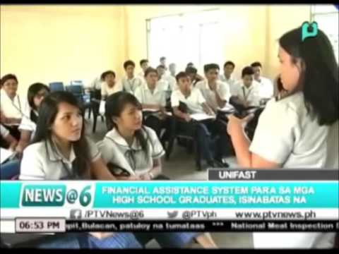 Financial Assistance System para sa mga high school graduates, isinabatas na || Oct. 22, 2015