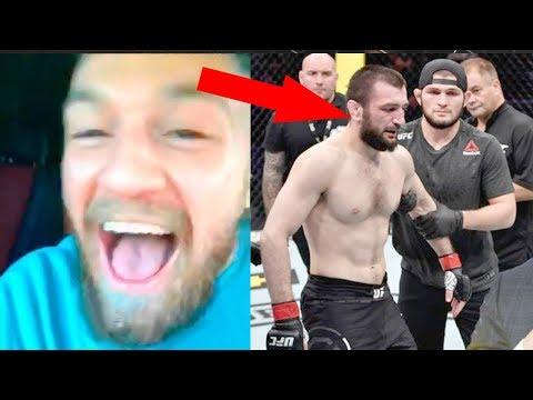 Реакция Конора МакГрегора на бой Абубакара Нурмагомедова с Дэвидом Завадой / Обзор UFC Москва