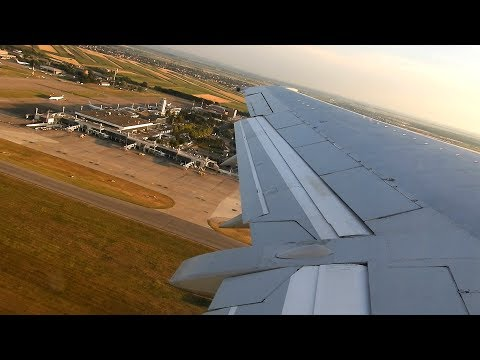 Aviolet Boeing 737-3H9 Wing View Takeoff From Belgrade Airport