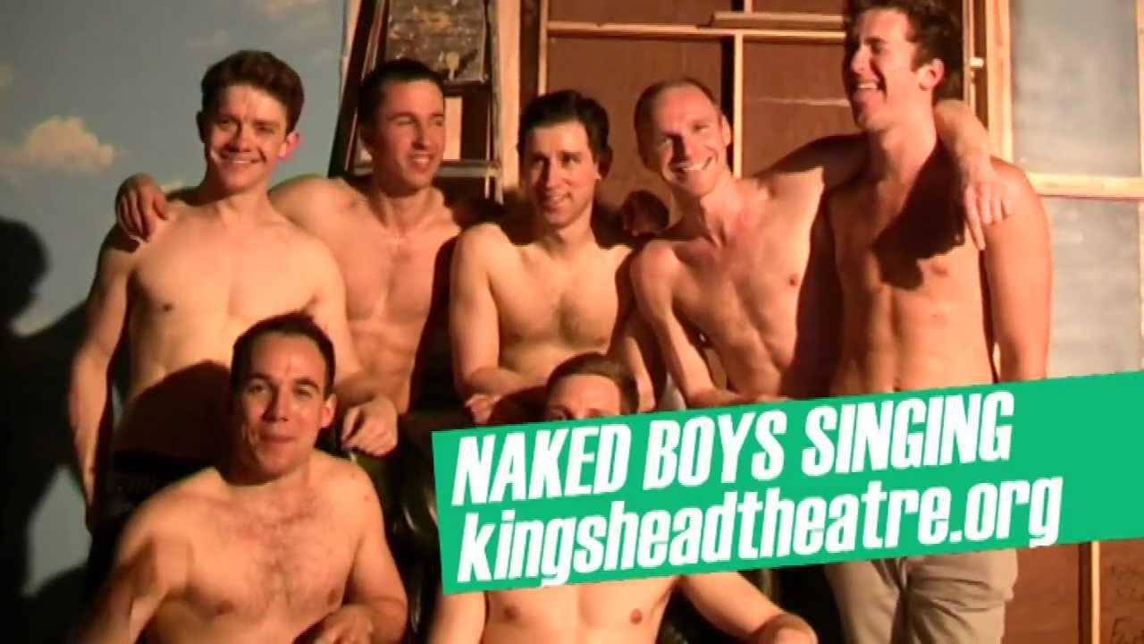 Naked Boys Singing  The Kings Head Theatre Islington -7180