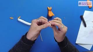 як зробити іграшку з кульки ковбаски