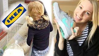 VLOG - Shopping | H&M Haul | Ikea Ausflug | Kochen | 34 SSW | Isabeau